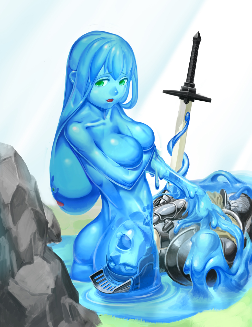 Slime dragon nude sexy sexy uncensored babes