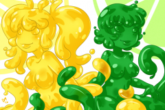 Slime Girls Pack 11 - KawaiiHentai (8)