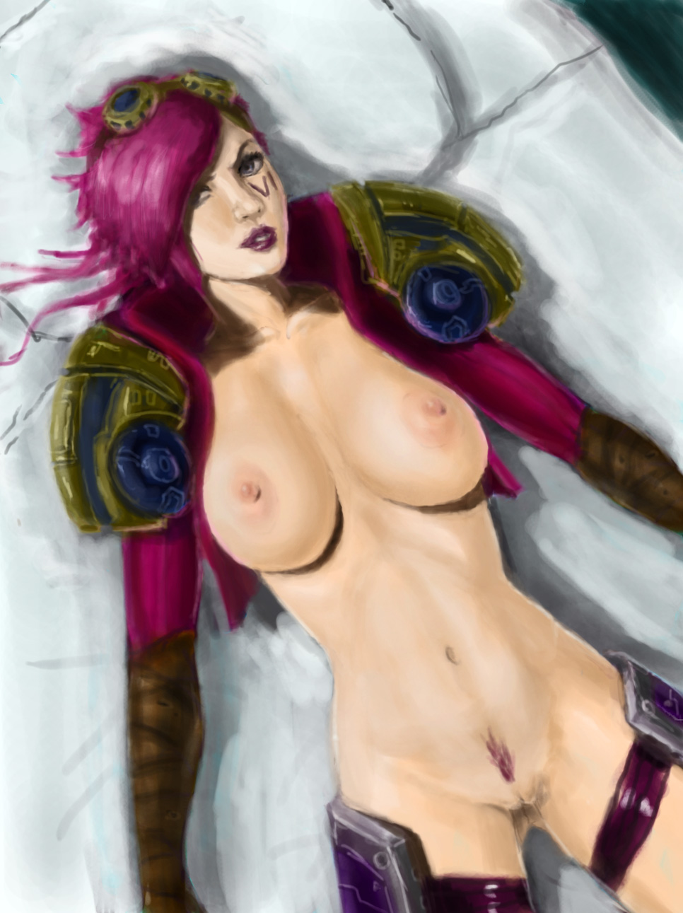 Anime vi nude league of legends pics adult photo