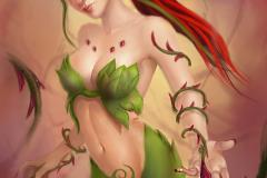 League Of Legends KawaiiHentai - Zyra (4)