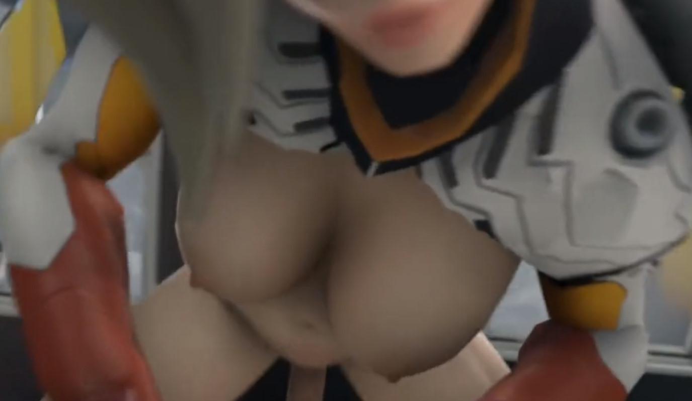3D Overwatch Hentai – Character Spotlight – Mercy