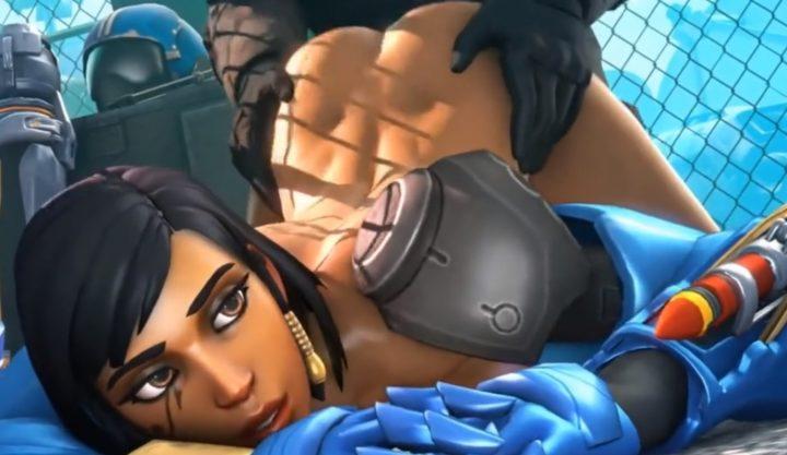 3D Overwatch Hentai – Character Spotlight – Pharah