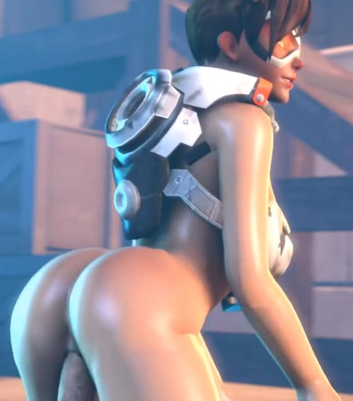 3D Overwatch Hentai Tracer Collection